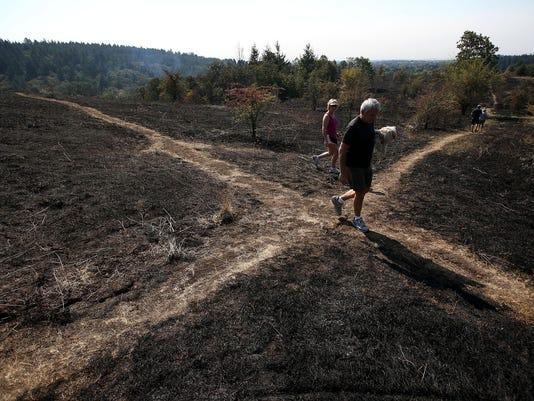 Corvallis Wildfire