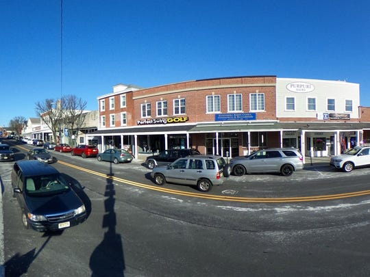 Main Street in downtown Toms River is shown in this