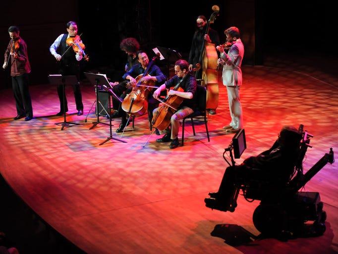 Cellist Yo-Yo Ma and the Silk Road Ensemble perform