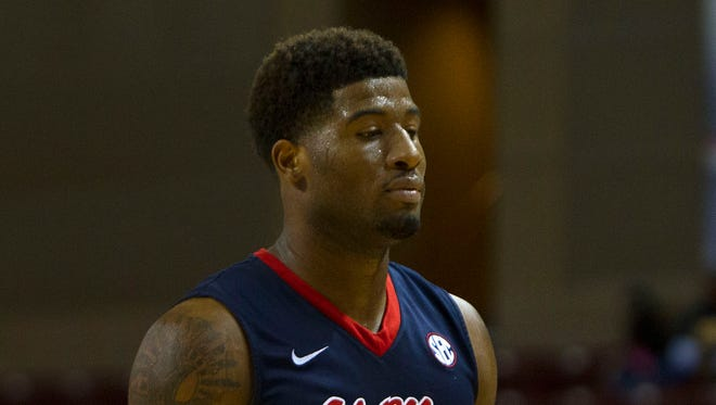 Ole Miss guard Martavious Newby will be returning to his hometown of Memphis for Friday's game against Memphis.