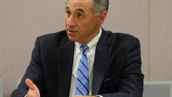 RIPEC President Michael DiBiase, who leads Gov. Gina Raimondo's Department of Administration until January, says the state should look to use a portion of the $1.25 billion in federal aid from the Coronavirus Relief Fund to replenish its unemployment fund.