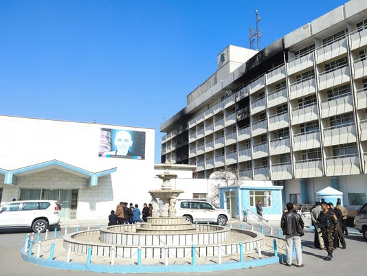 EPA AFGHANISTAN HOTEL ATTACK AFTERMATH WAR CONFLICTS (GENERAL) AFG