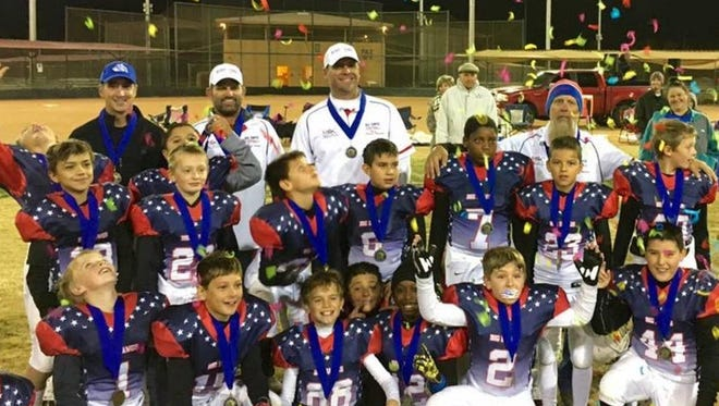 The Big Dawgs won the season championship Thursday for the fourth- and fifth-grade division of the Nerf League of Las Cruces.