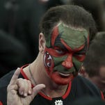 Actor who played David Puddy in 'Seinfeld' shows up with face painted at Devils game