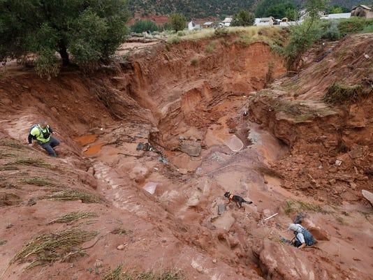 Flash flood deaths