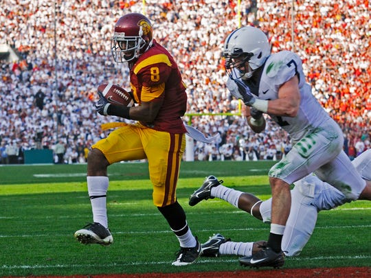 Anthony McCoy and USC won the 2009 Rose Bowl and were deemed the No. 4 seed in a mock College Football Playoff exercise held Thursday.