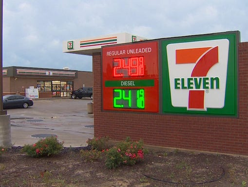Mark Page will soon assume control of this 7-Eleven