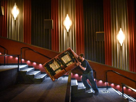 DreamLounger recliner seat at Marcus Parkwood Cinema