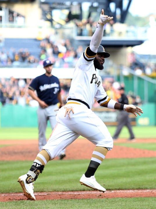 MLB: Milwaukee Brewers at Pittsburgh Pirates
