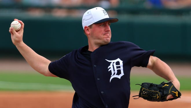 Jordan Zimmermann is the starting pitcher for today's game against the Yankees.