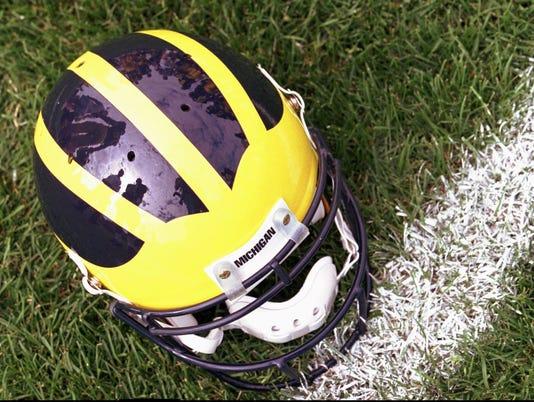 Michigan helmet