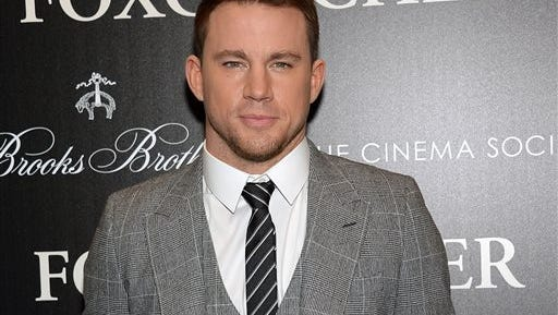"""In this photo, actor Channing Tatum attends a special screening of """"Foxcatcher,"""" hosted by the Cinema Society with Details and Brooks Brothers, at The Museum of Modern Art in New York. As many as six aspiring filmmakers will appear on next year's Academy Awards, and Tatum will help them get there. Oscar producers said Wednesday, they're bringing back the Team Oscar program that invites young filmmakers to play a role in the Academy Awards ceremony."""