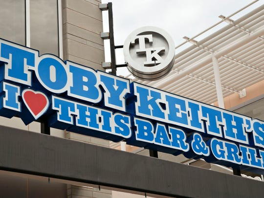The north Phoenix location of Toby Keith's I Love This Bar and Grill in the High Street shopping area in 2015 after it closed.