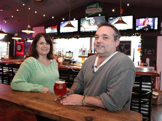 Laurie and Brad Boyle, owners of Orchard Beer Garden.