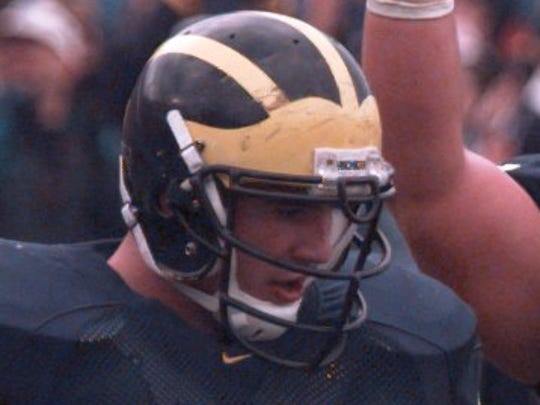 Former Michigan tight end Mark Campbell