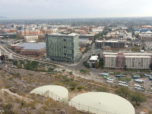 View of Tempe from Hayden Butte