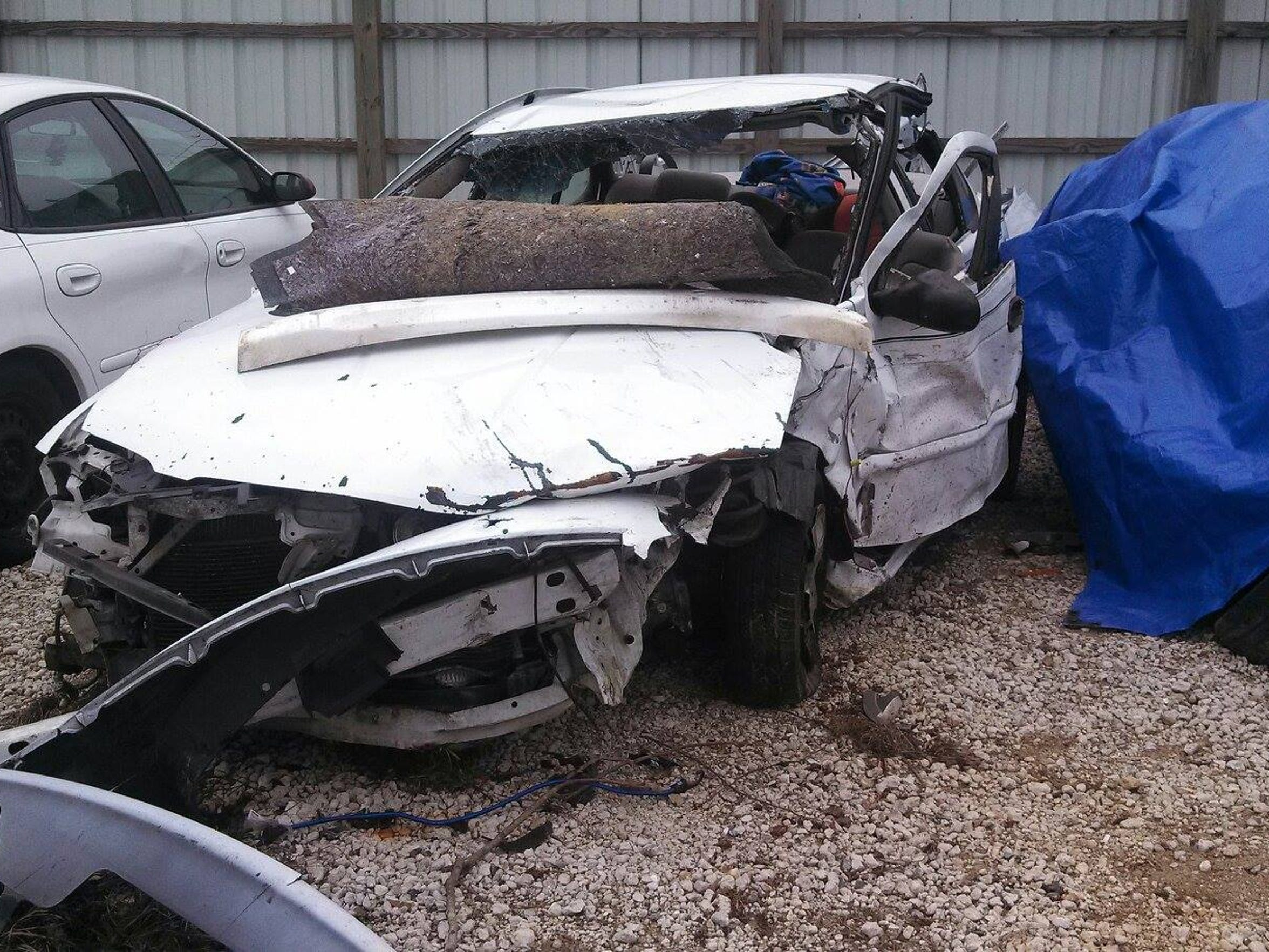 Cameron was ejected from this vehicle after his mother's