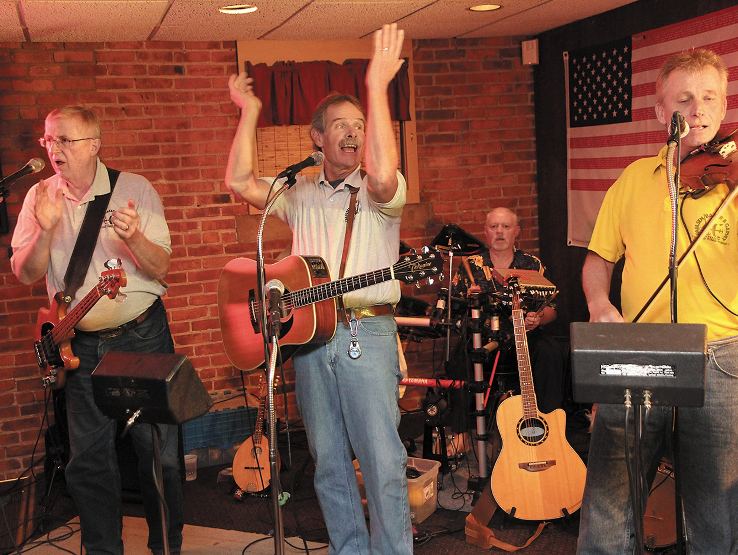 The Paulsen and Baker Band with John Garvey, Keith