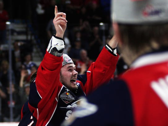 Luke Boka, from Plymouth, displays sheer emotion after