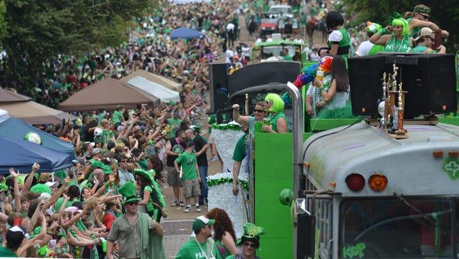 2012 Mal's St. Paddy's Parade