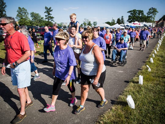 Hundreds participated in the 2017 Relay for Life event