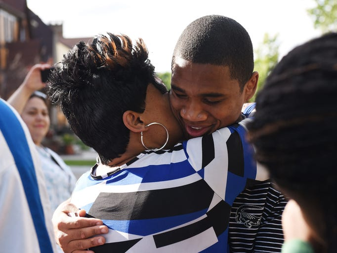 Davontae Sanford, who was freed after eight years in