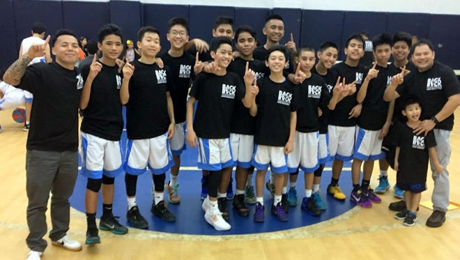 The St. Paul Christian Warriors' middle school boys' basketball team will put their unbeaten record up at the 2016 IIAAG-GDOE Boys Middle School Basketball Shoot-Out at the St. Paul gym. The tournament sponsored by Buddy's Home Furnishings will be held from May 18-22.