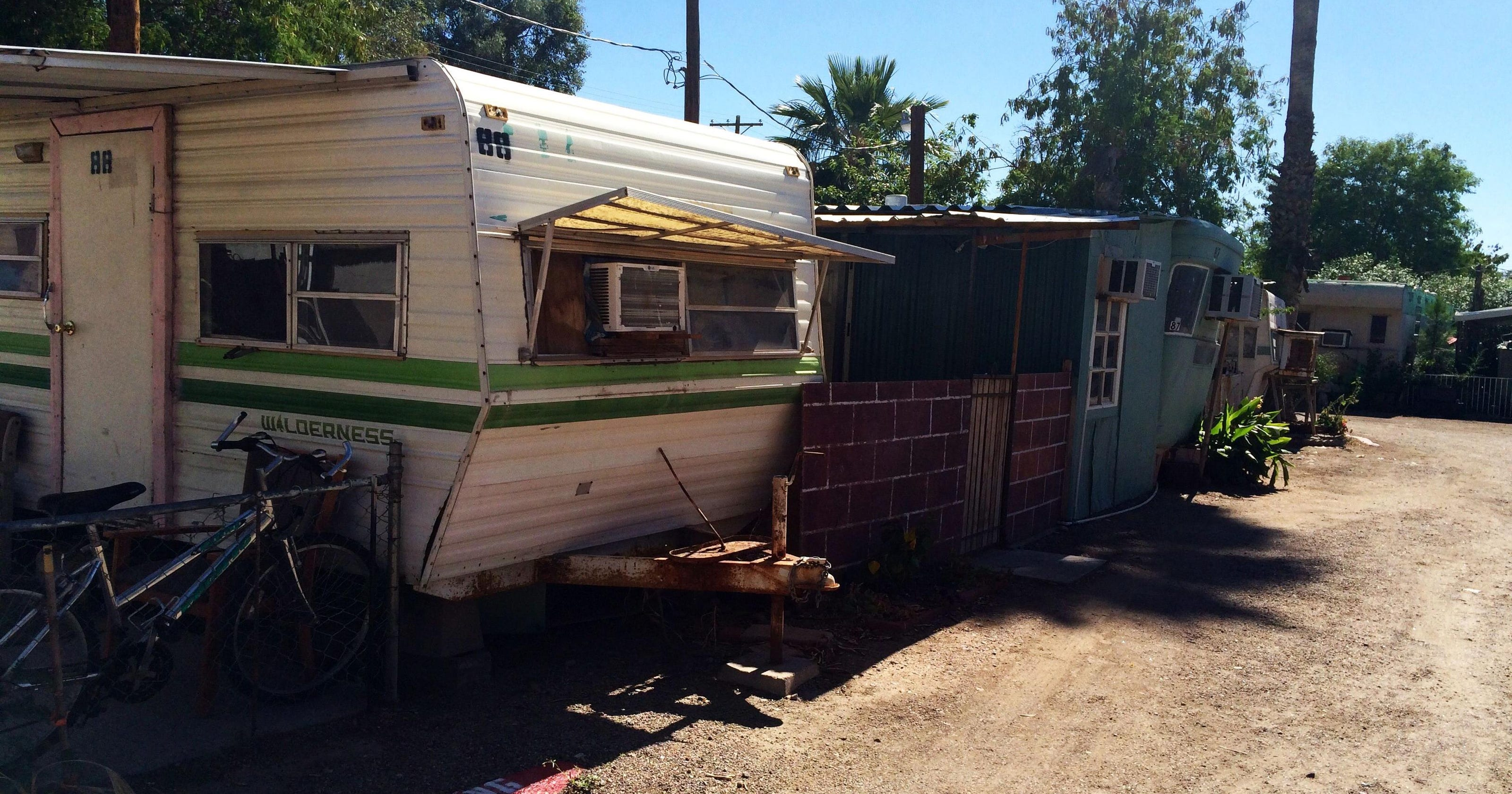 100 families may be out at 'unfit' Mesa mobile-home park