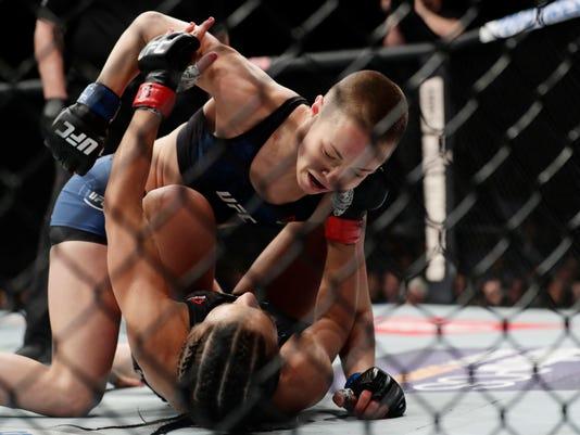 AP UFC 217 MIXED MARTIAL ARTS S MMA USA NY