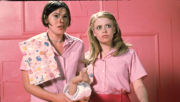 Clea DuVall, left, and Natasha Lyonne in a scene from