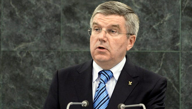 Newly elected International Olympic Committee President Thomas Bach of Germany suffered an embarrassing defeat when Munich voters rejected a bid for the 2022 Winter Olympics.