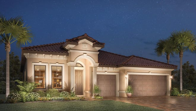 Select interior options now for one of the Athena quick delivery homes at Bonita Lakes.