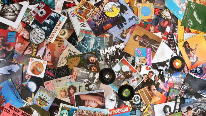 Pop Candy reader Pete K. uses this photo of his favorite records as his wallpaper.