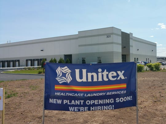 Unitex, a regional healthcare laundry company with locations throughout the Northeast, recently opened its 12th facility with a 67,000-square-foot plant at 301 Pleasant St. in Linden.