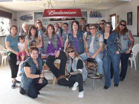 Lost Girls Motorcycle Club's Mammogram Fund raises