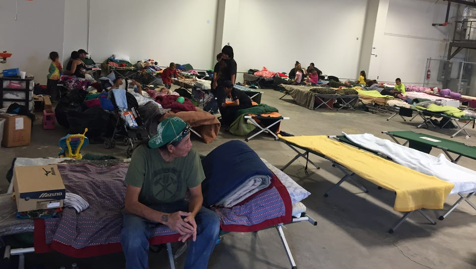 The Red Cross has a shelter in Browning to help residents