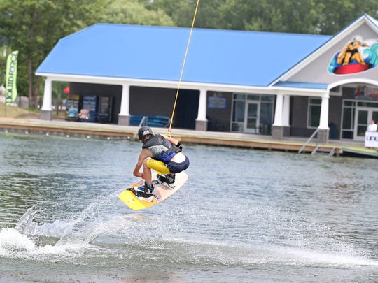 Roseland Wake Park in Canandaigua opened in 2015.