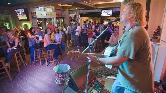 Matt Avery performing at Conch Island Key West Bar and Grill in Rehoboth Beach in 2010. He will reunite with '80s pop star Tiffany at the restaurant for a show Friday night.