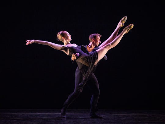 Kaitlyn Gilliland and Matthew Dibble perform Twyla