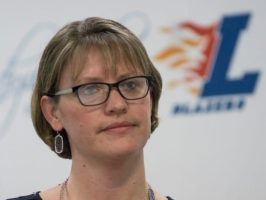 Ladywood Principal Tracey Mocon.