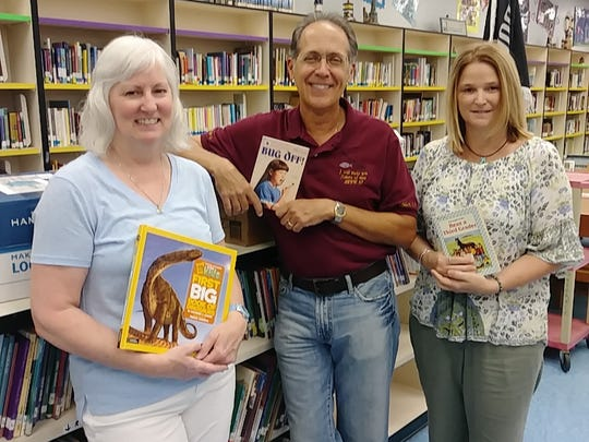 Members of First United Methodist Church of Port St. Lucie have been collecting books for the Northport students since February.