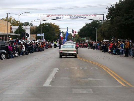 14th annual Veterans Day parade