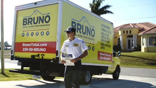 Bruno Total Home Performance Technician On-Site