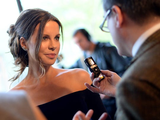 """Kate Beckinsale attends a screening of  """"Love & Friendship"""" on May 10, 2016, in New York City.  (Photo by Ben Gabbe/Getty Images)"""