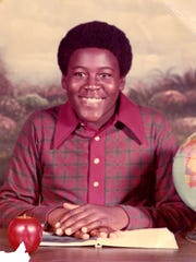 Lomas Brown, a former Detroit Lion, in his younger days.