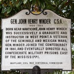Where does Gen. Winder belong?
