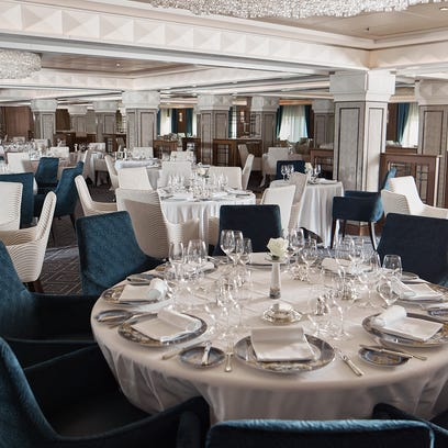 Cruise insider: The gourmet dining of a Regent ship