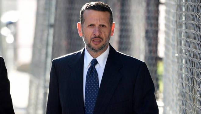 David Wildstein arriving at federal court in Newark on Monday, Sept. 26, 2016, to testify in the Bridgegate trial. AMY NEWMAN