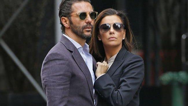 Jose Antonio Baston and Eva Longoria