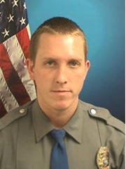 Brett Hansen, 28, of Brick, a patrol officer with the